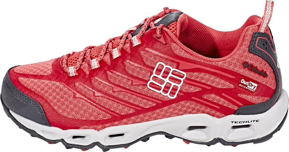 Columbia Ventrailia II Outdry Low Shoe Women Sunset Red/White 37,5 2017 Trekking- & Wanderschuhe